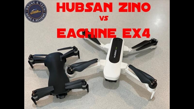 Hubsan Zino vs Eachine EX4 Bargain Drone Comparison