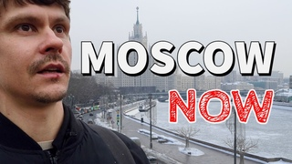 Moscow Now: Russian winter, odd cycling, main attractions and increased police presence. Russia vlog