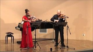 : Presto for 2 violins