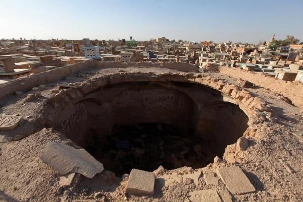 Самое большое кладбище на Земле