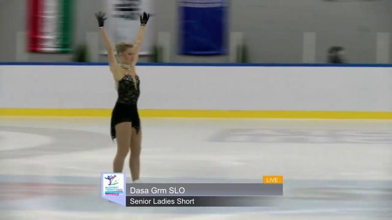 Dasa GRM SLO Short Program 2020 Budapest Trophy