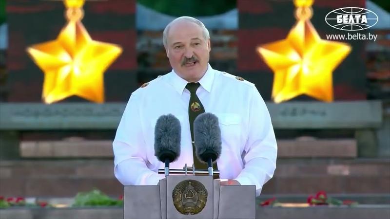 OCKNIJCIE SIĘ DOPÓKI NIE JEST ZA PÓZNO Aleksander Łukaszenko zwraca się do sąsiadów do Polaków