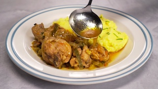 Курица по-сербски (Всегда вкусно!)