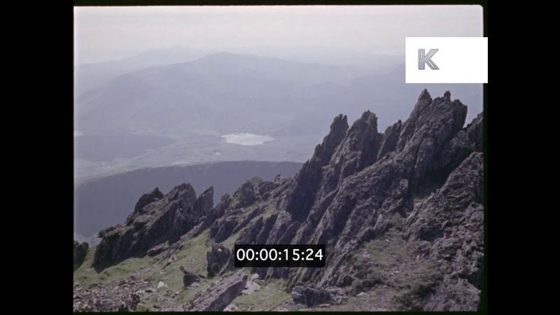 1960s Misty Mountains, Welsh Landscapes, 35mm