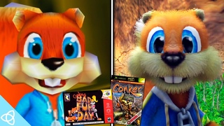 Conker's Bad Fur Day (N64 Original) vs. Conker: Live & Reloaded (Xbox Remake) | Side by Side #11