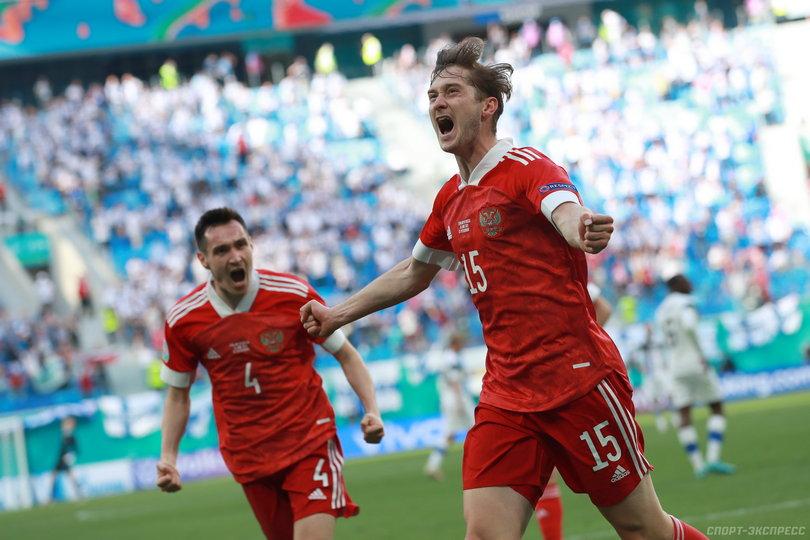 Россия обыграла Финляндию и одержала первую победу на Евро-2020 (Видео)