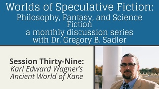 Karl Edward Wagner's Ancient World of Kane | Worlds of Speculative Fiction (lecture 39)