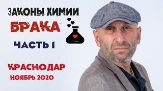 Сатья. Краснодар, ч.1, , «Законы химии брака».
