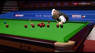 John Higgins' stunning 147 maximum break at World Snooker Championship in full – every shot