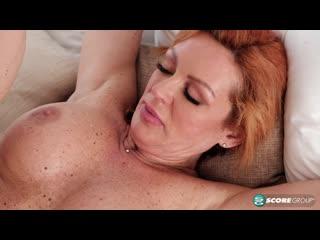 Зрелая дама трахнула сына подруги, milf sex redhead tit old ass boob mature ginger lady bang son family anal cum (Hot&Horny)