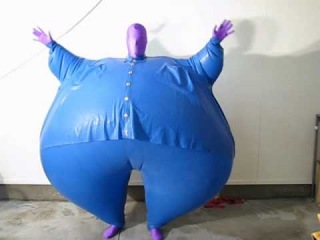 Inflatable Blueberry Suit