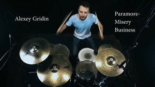 Alexey Gridin - Paramore - Misery Business (drum cover)