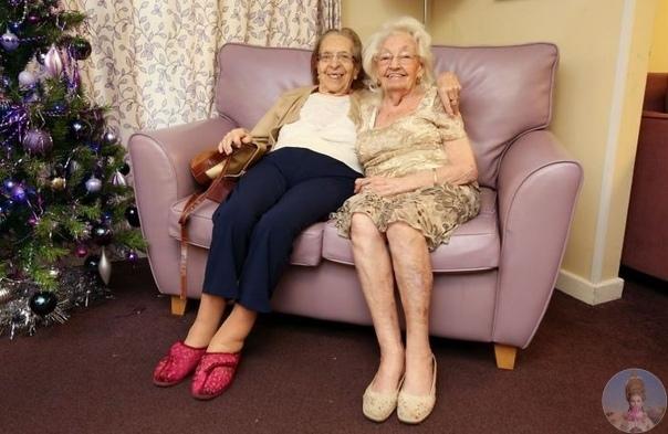 Дружба длинной почти в 80 лет. Олив Вудворд и Кэтлин Савилл дружат практически столько, сколько себя помнят, и отказались расставаться даже в доме