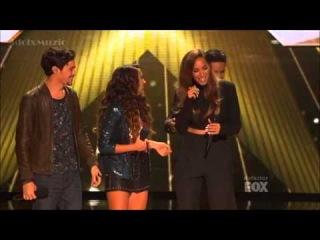Alex & Sierra With Leona Lewis - Bleeding Love - X Factor USA 2013 (Finals)