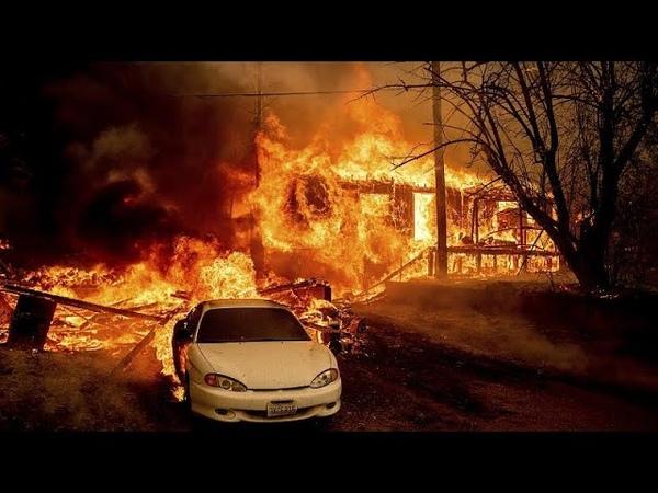В Калифорнии пожар уничтожил город со 150 летней историей…
