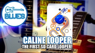 Caline Looper Pedal - The first MicroSD Card Loop Station