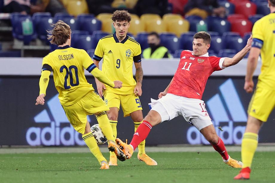 Россия – Швеция: Кутепов против Ларссона и голевой дебют Соболева!