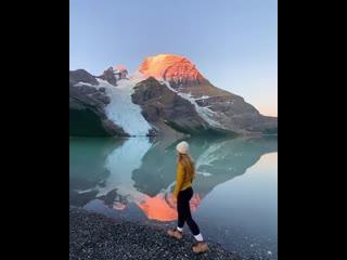 Тихое утро в горах ⛰ Британская Колумбия