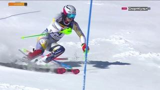 Горные лыжи. Чемпионат мира. Кортина д'Ампеццо. Мужчины. Слалом. 1 я попытка
