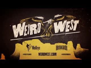 Weird west official announcement trailer the game awards 2019