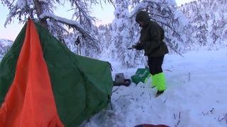 К Счастливым людям Верхоянской тайги. Часть 2. Беспечная лыжница с печкой.