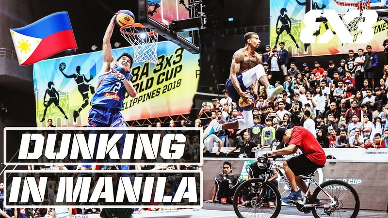 💪 FILIPINO beating the World's best Dunkers FIBA 3x3 Dunk Contest Highlights