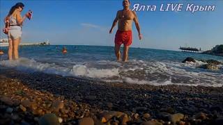 Жара!!! Море теплое. Отдых // Ялта Live Крым
