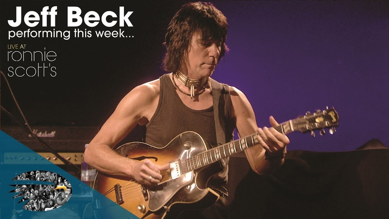 Jeff Beck Scatterbrain Performing this At Ronnie Scott's