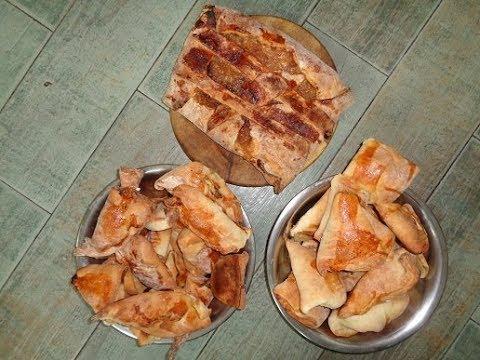 Волшебство в действии и пошагово. Рецепт мясного и яблочного пирога. Мужчина должен уметь все
