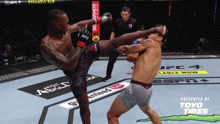 MMA Slow Motion | Israel Adesanya vs Paulo Costa