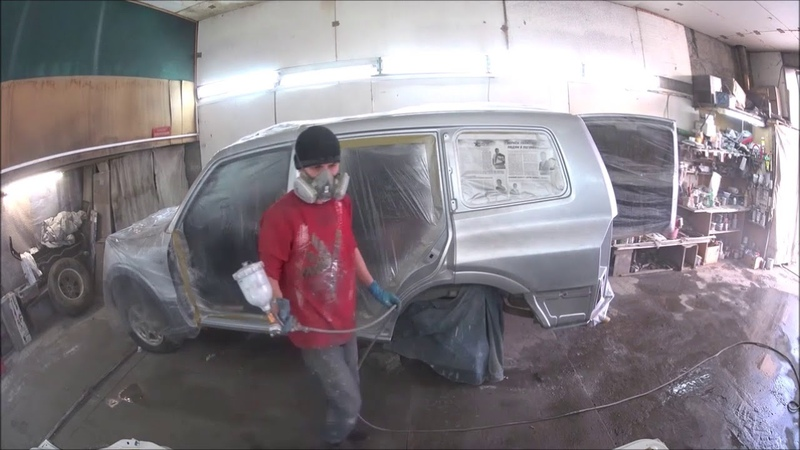 кузовной ремонт MMC PAJERO