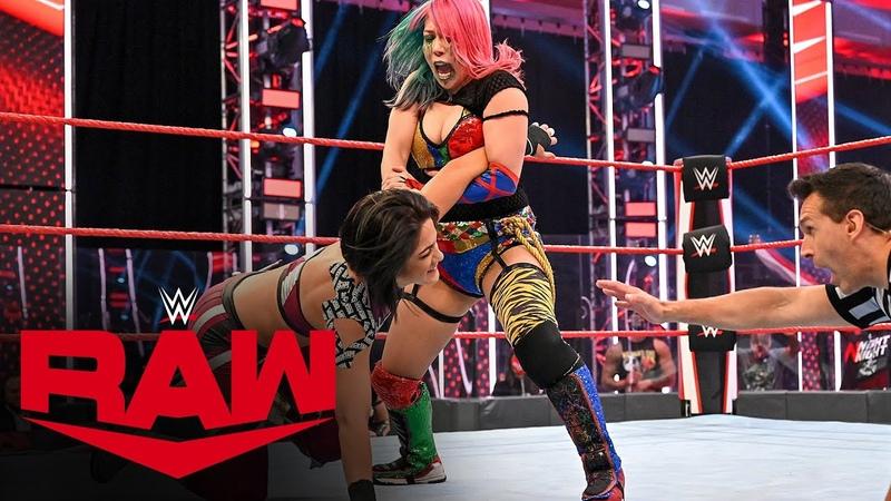 Asuka vs Bayley Champion vs Champion Match Raw July 6 2020