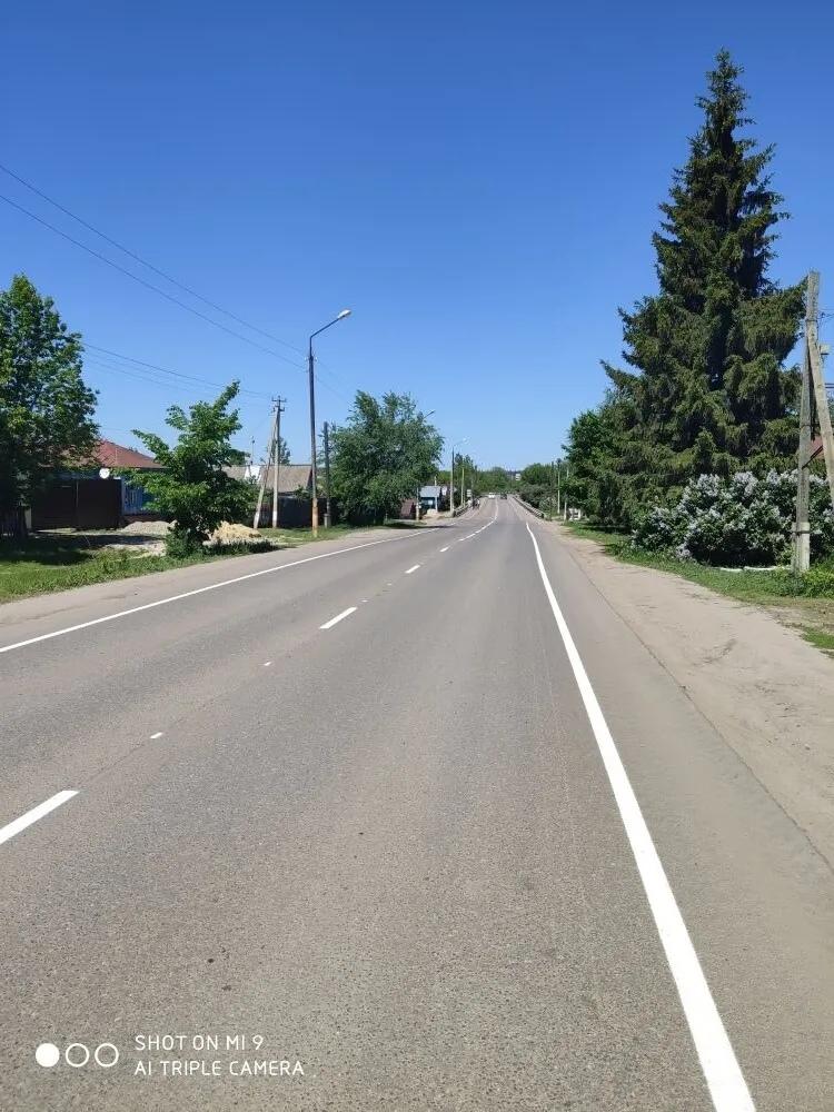"""Подрядная организация """"Меридиан"""" объяснила появление разметки на одной из грунтовых дорог Петровска"""