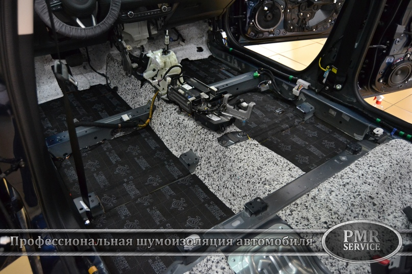 Шумоизоляция Mazda 6, изображение №5