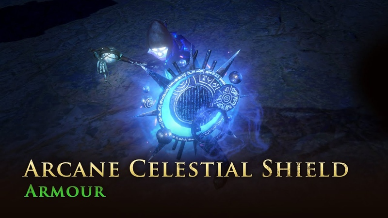 Path of Exile Arcane Celestial Shield