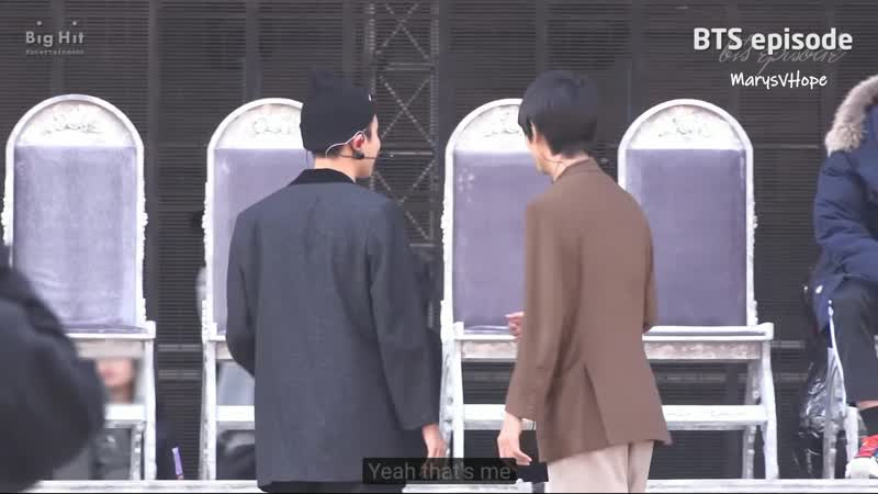 Taehyung loves hoseoks part in dionysus 200321 episode