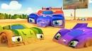 Машинки Супер Ралли - Гоночная машина в опасности - Мультфильм 2020