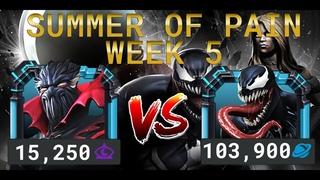 Лето Боли Неделя 5 — Верховный Симбиот vs Веном | Marvel Contest of Champions
