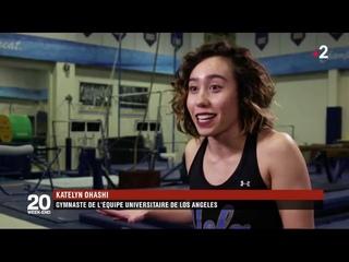 Katelyn Ohashi : l'incroyable prestation de cette jeune gymnaste américaine en vidéo