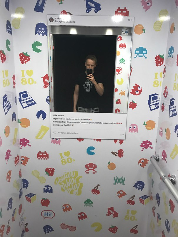 Андрей Рогозов: Лифт в отеле RockyPop.