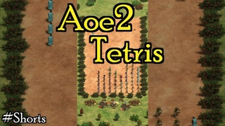 Tetris Playable in Age of Empires II