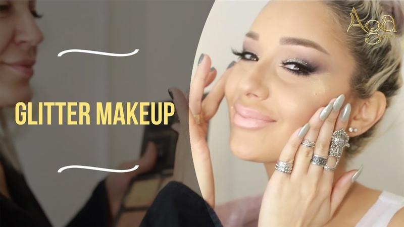 Aga Kankanyan Glitter Makeup
