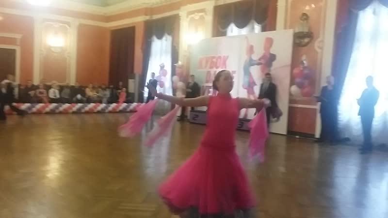 Г.Новукузнецк турнир Кубок Dance Avenue юниоры 12 европейская программа (Стандарт)