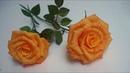 FLOR DE PAPEL CREPE Cómo hacer Rosa Flores de papel hermosas Rosas de papel manualidades