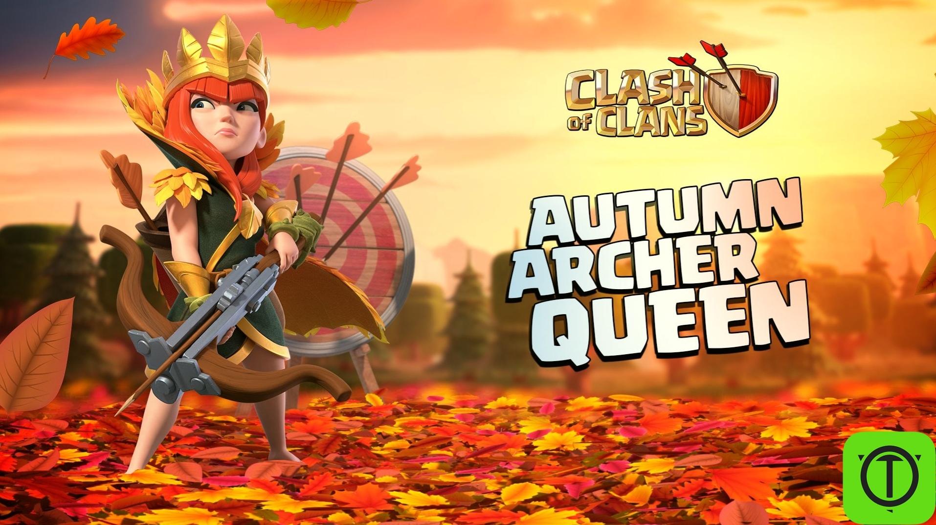 Скин «Королева Осени» доступен для покупки за Кристаллы!