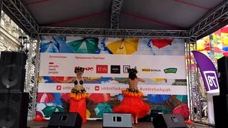 E kume kume @ Аллея парящих зонтиков  Maohi tribe  Tahitian dance in Russia