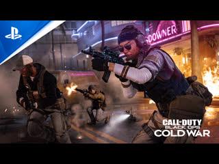 Call of Duty: Black Ops Cold War   Трейлер альфа-версии   PS4