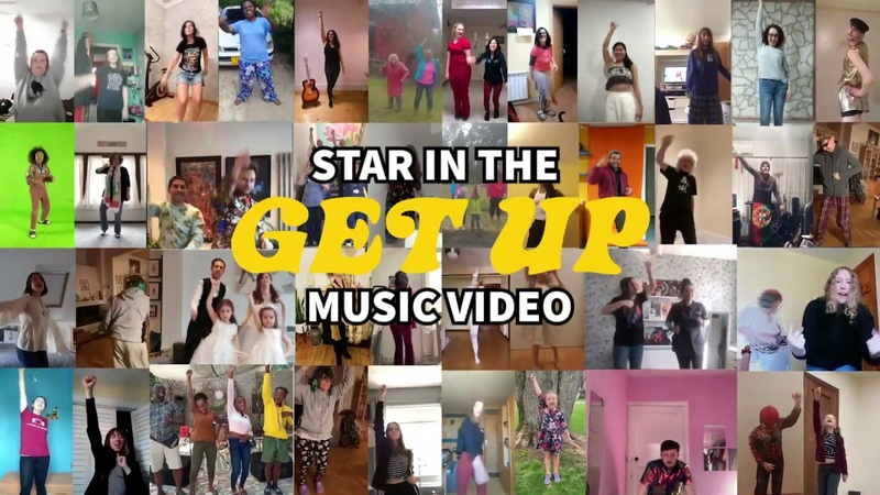 GET UP Star in the music video Kings Daughters Brian May