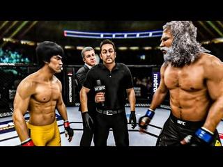 BRUCE LEE VS GOLIATH | UFC 3 BRUTAL FIGHT | UFC 3 K1 RULES | UFC 3 2020 | EA SPORTS UFC 3