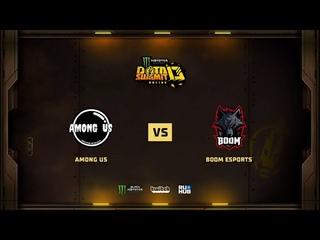Among Us vs BOOM Esports, Monster Energy DOTA Summit 13: SEA, bo3, game 2 [Lex & 4ce]